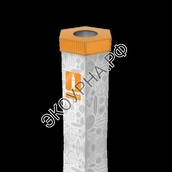 Пластиковые бутылки/6-тигранная 48х84 110л.