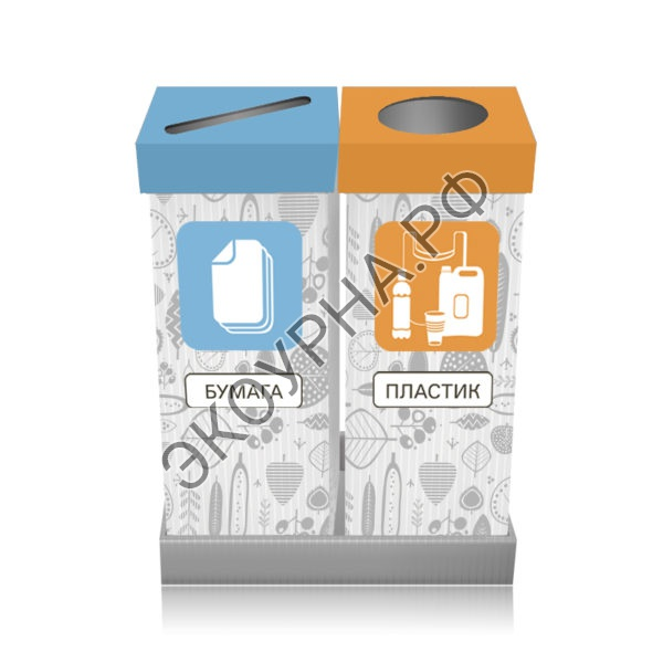 Бумага-пластик/квадратные высокие 61х31х84, 142л