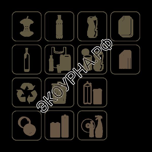 Пиктограммы 170x170 на белом