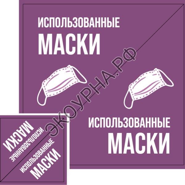 "Комплект наклеек ""Маски"", 290x290 мм"